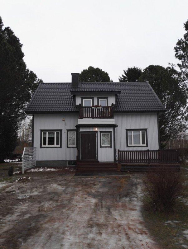 Omakotitalo Kirkonmäki, Kokkola