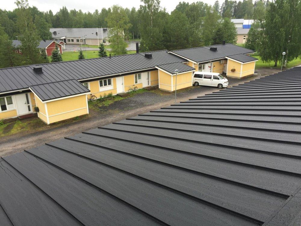 Taloyhtiön katon korjaus